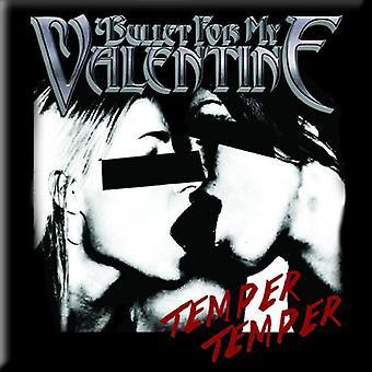 Bullet For My Valentine Fridge Magnet Temper Temper new Official 76mm x 76mm