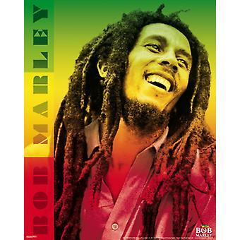 Bob Marley - colores de impresión de cartel de cartel
