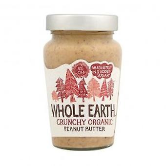 Whole Earth - Peanut Butter - Organic Crunchy 340g