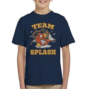 Pokemon Team Splash Magikarp Kid's T-Shirt