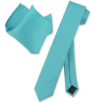 Vesuvio Napoli smal 2,5-tums halsduk näsduk hals slips Set