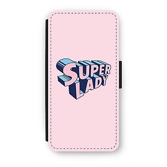 Samsung Galaxy S7 Edge Flip Case - Super lady