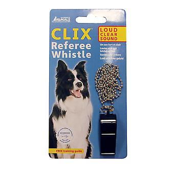 Clix Referee Dog Puppy Whistle, Good All-Round Whistle Dog Training
