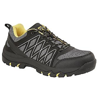 Grafters Mens Toe Capped Safety Trainers