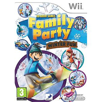 30 Great Games Family Party Winter Fun (Wii) - New