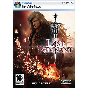 The Last Remnant PC DVD Game