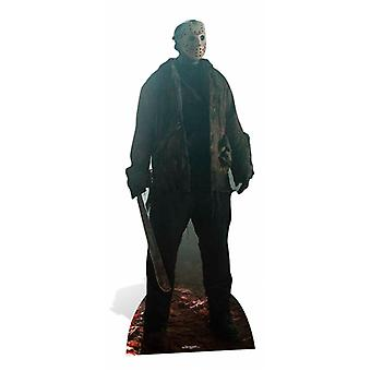 Jason Voorhees Friday the 13th Lifesize cutout