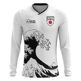 2020-2021 Japan Langarm Weg Konzept Fußball Shirt (Kinder)