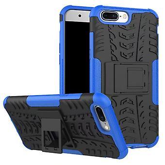 Nex Style Hybrid Case 2teilig Outdoor Blau für OnePlus 5 Tasche Hülle Cover Schutz