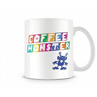Coffee Monster Printed Mug