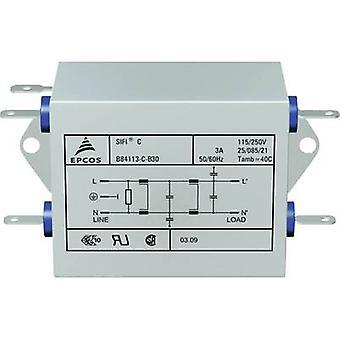 TDK B84113CB30 EMI suodatin palon esto 250 V AC 3 A 4,7 mH (p x L x k) 89,5 x 50,8 x 38,1 mm 1 kpl (s)