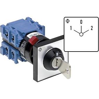 Kraus & Naimer CH10 A210-600 FT2 V750D/3H Changeover switch 20 A 1 x 60 ° Grey, Black 1 pc(s)