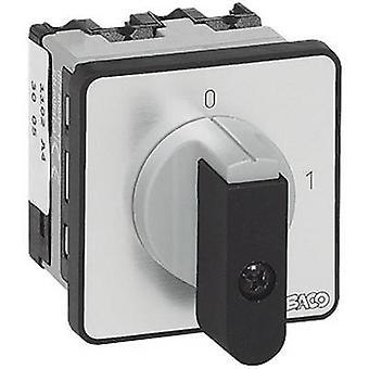 BACO NB01AQ1 Isolator switch 16 A 1 x 90 ° Grey, Black 1 pc(s)