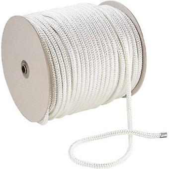 Cuerda de poliéster (Ø x L) 4 mm x 100 m 20209 blanco