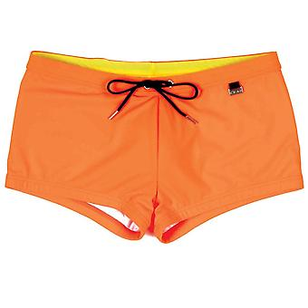 HOM Splash a Swim Shorts, arancia, X-large