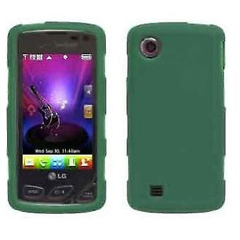 5 Pack -Wireless Solutions Silicone Gel Case for LG Chocolate Touch VX8575 - Turf Green