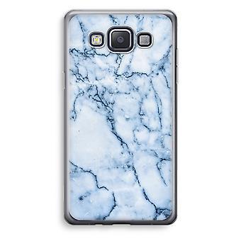 Samsung Galaxy A3 (2015) gjennomsiktig sak (myk) - blå klinkekule
