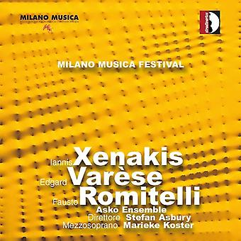 I. Xenakis - Festival Milano Musica Live, Vol. 2 [CD] USA import