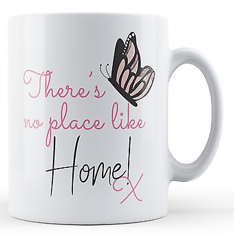 There's no place like Home! x Butterfly - Printed Mug