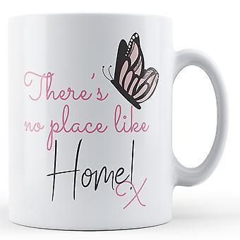 ¡No hay lugar como en casa! x mariposa - taza impresa