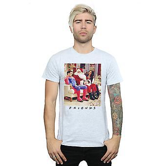 Freunde Männer Superman und Santa T-Shirt