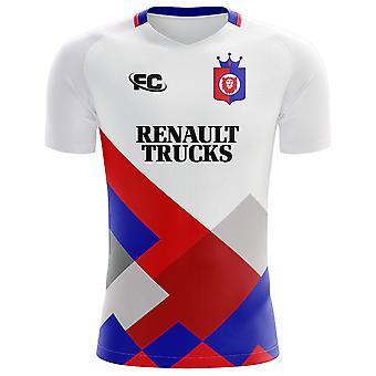 2018-2019 Lyon Fans cultuur Home Concept Shirt