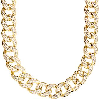 Premium bling Sterling 925 Silver Miami Cuban chain - 14mm