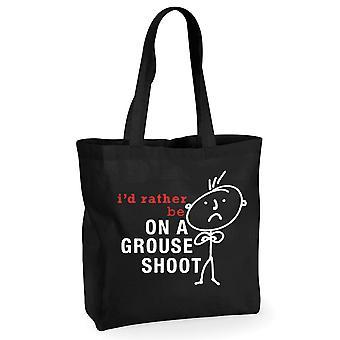 Mens אני ' די להיות על שובית לירות כותנה שחור שקית קניות