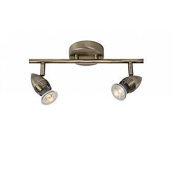 Lucide Caro-LED Modern metall brons tak plats ljus