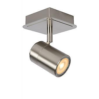 Lucide Lennert cromo satinado Metal moderno techo luz del punto