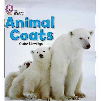 Collins Big Cat - animali cappotti: Band 02A/rosso A