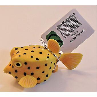 Figurine - Poisson coffre jaune - CollectA 88788