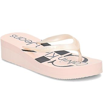 カルバン クライン ジーンズ RE9856PINK ユニバーサル 夏の女性靴