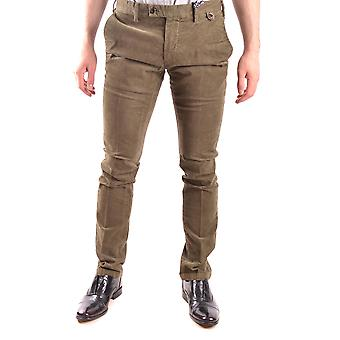 At.p.co Ezbc043027 Men's Green Cotton Pants