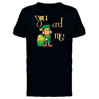 You And Me Leprechaun Tee Men's -Image by Shutterstock