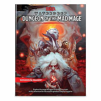 Dungeons & Dragons RPG - Dungeon of the Mad Mage Book Rollspel