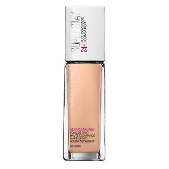 Maybelline Superstay 24H Foundation-40 Fawn