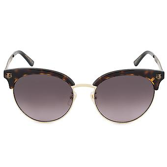 Gucci Cat Eye Sunglasses GG0222SK 002 56