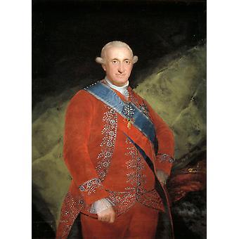 Charles IV,Francisco Goya,50x37cm