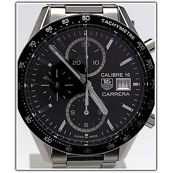 Tag Heuer mens watch Carrera calibre 16 automatic chronograph