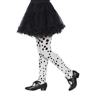 Copii ciorapi Dalmatian model de carnaval accesoriu