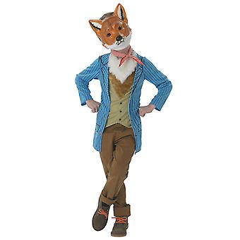 Mr Fox Roald Dahl Fantastic World Book Week Dress Up Tween Boys Costume 9-10Y