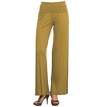 Dbg women's women's palazzo polyester wide legged spring pants