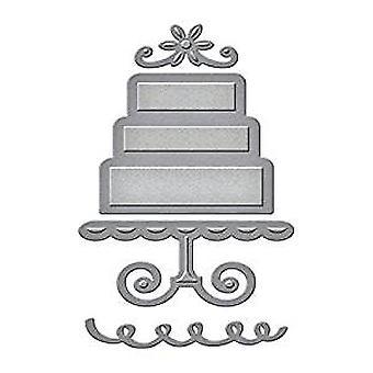 Spellbinders Die D-Lites kerroksellinen kakku (S1-006)