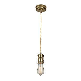 Pendentif support douille lampe