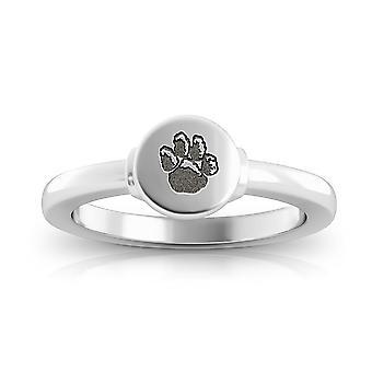 University of Pittsburgh ring i sterling sølv design af BIXLER