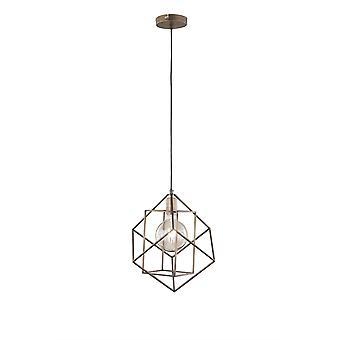 Wofi Pendant Light Girona 1 Light Golden