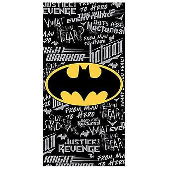 Batman Graffiti Ręcznik plażowy