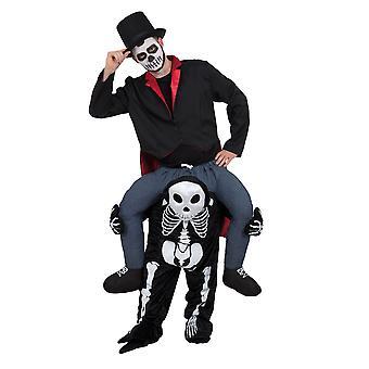 Bristol Neuheit Unisex Erwachsene Skelett Schweinchen zurück Kostüm