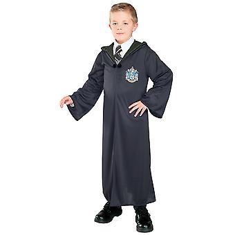 Slytherin Harry Potter Hogwarts licensierade Robe bok vecka barn pojkar kostym